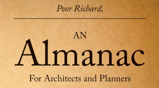Poor Richard's Almanac for Planners | Issue 1