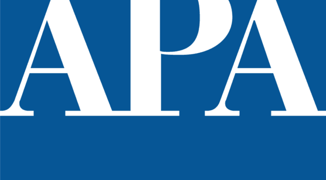 American Planning Association, logo, APA, United States, professional